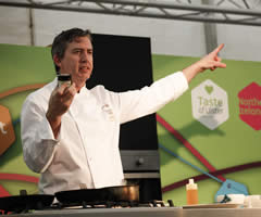 Cookery Demo by Noel McMeel, Executive Head Chef at Lough Erne Resort